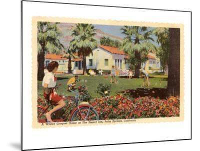 Desert Inn, Palm Springs, California--Mounted Art Print