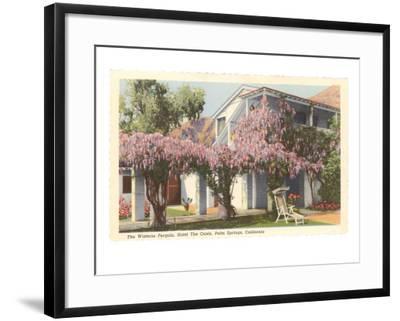 Wisteria Pergola, the Oasis, Palm Springs, California--Framed Art Print