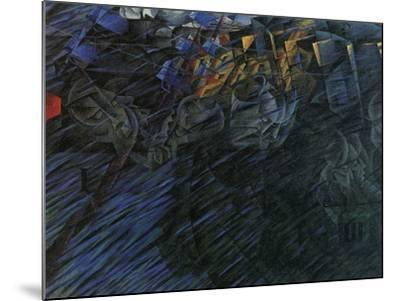 Stage of Mind: Those Who Go-Umberto Boccioni-Mounted Giclee Print