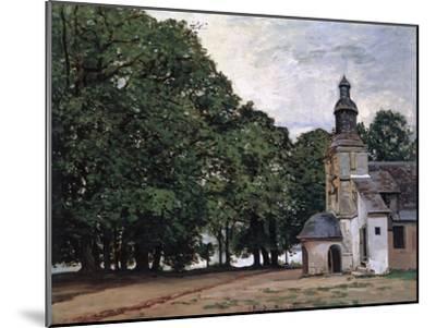 La Chapelle De Notre-Dame De Grace, Honfleur-Claude Monet-Mounted Giclee Print