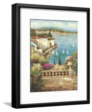 Ocean Garden-Peter Bell-Framed Premium Giclee Print
