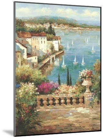 Ocean Garden-Peter Bell-Mounted Premium Giclee Print