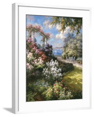 Morning Retreat-Alberto Pasini-Framed Art Print