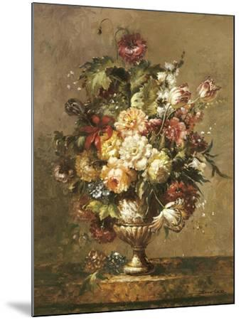 Floral Decadence-John Cho-Mounted Premium Giclee Print