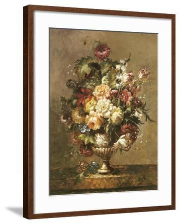 Floral Decadence-John Cho-Framed Premium Giclee Print