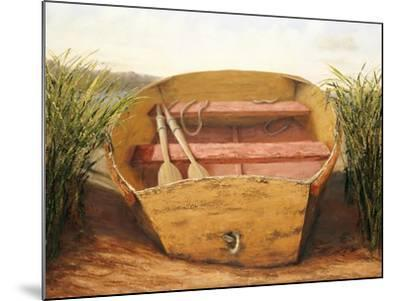 Beached Dinghy-Karl Soderlund-Mounted Art Print