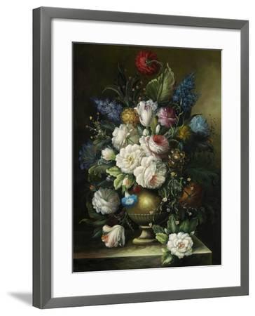 Ornamental Bouquet--Framed Premium Giclee Print