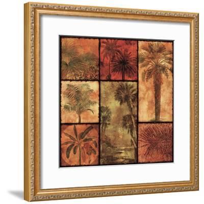 Palm Patchwork I--Framed Art Print