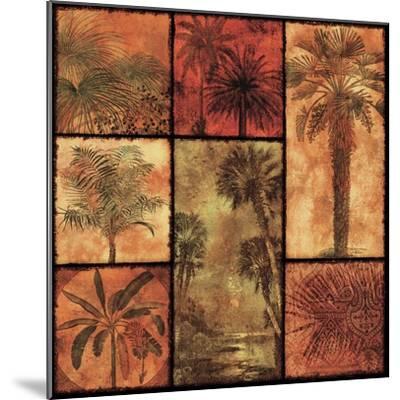 Palm Patchwork I--Mounted Art Print