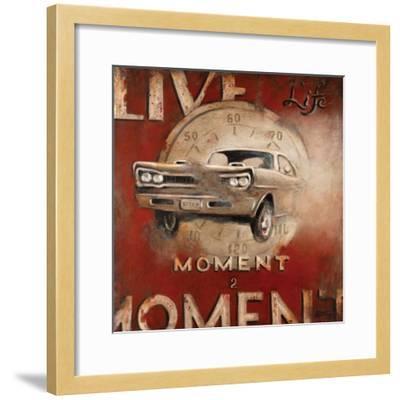 Live Life-Janet Kruskamp-Framed Premium Giclee Print