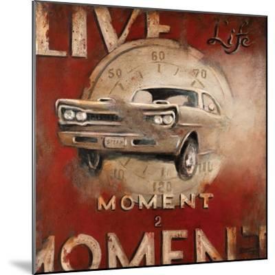 Live Life-Janet Kruskamp-Mounted Premium Giclee Print