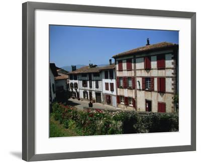 St. Jean Pied De Port, Pays Basque, Aquitaine, France, Europe-Nelly Boyd-Framed Photographic Print