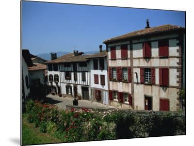 St. Jean Pied De Port, Pays Basque, Aquitaine, France, Europe-Nelly Boyd-Mounted Photographic Print