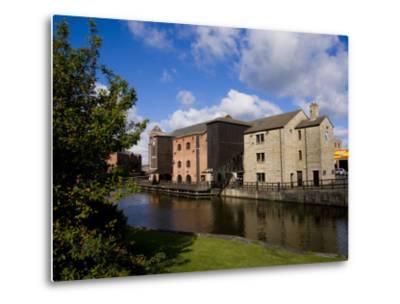 Wigan Pier, Lancashire, England, United Kingdom, Europe-Charles Bowman-Metal Print