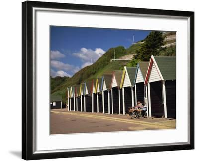 West Cliff, Bournemouth, Dorset, England, UK-Pearl Bucknall-Framed Photographic Print