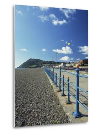 Bray Promenade and Beach Towards Bray Head, Bray, County Dublin, Republic of Ireland-Pearl Bucknall-Metal Print