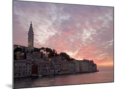 Rovinj, Istria, Croatia, Europe-Angelo Cavalli-Mounted Photographic Print