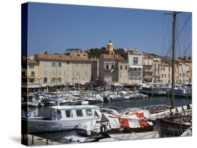St. Tropez, Var, Provence, Cote D'Azur, French Riviera, France, Mediterranean, Europe-Angelo Cavalli-Stretched Canvas Print