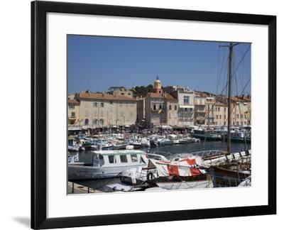 St. Tropez, Var, Provence, Cote D'Azur, French Riviera, France, Mediterranean, Europe-Angelo Cavalli-Framed Photographic Print
