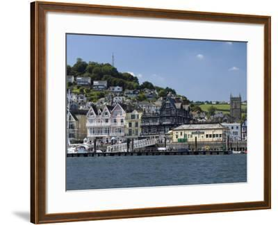 Dartmouth Waterfront, South Devon, England, United Kingdom, Europe-Rob Cousins-Framed Photographic Print