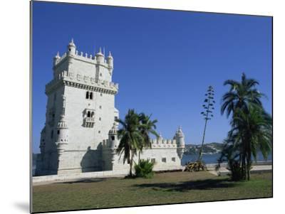 Exterior of Torre De Belem, UNESCO World Heritage Site, Belem, Lisbon, Portugal-Neale Clarke-Mounted Photographic Print
