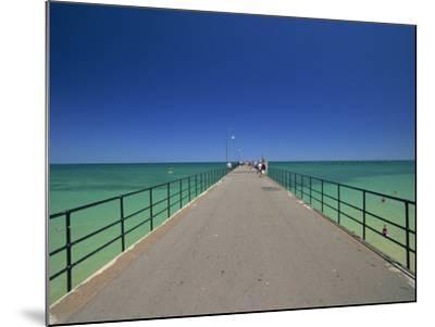 Glenelg Pier, Glenelg, Adelaide, South Australia, Australia, Pacific-Neale Clarke-Mounted Photographic Print
