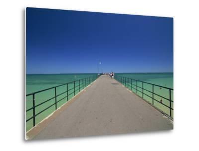 Glenelg Pier, Glenelg, Adelaide, South Australia, Australia, Pacific-Neale Clarke-Metal Print