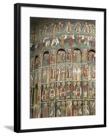Painted Monastery of Sucevita, Moldavia and Southern Bucovina Area, Romania, Europe-Gary Cook-Framed Photographic Print