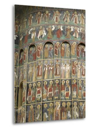 Painted Monastery of Sucevita, Moldavia and Southern Bucovina Area, Romania, Europe-Gary Cook-Metal Print
