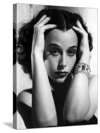 Algiers, Hedy Lamarr, 1938--Stretched Canvas Print