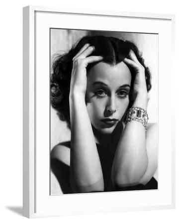 Algiers, Hedy Lamarr, 1938--Framed Photo