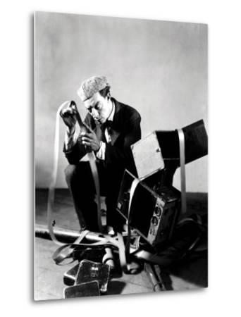 The Cameraman, Buster Keaton, 1928--Metal Print