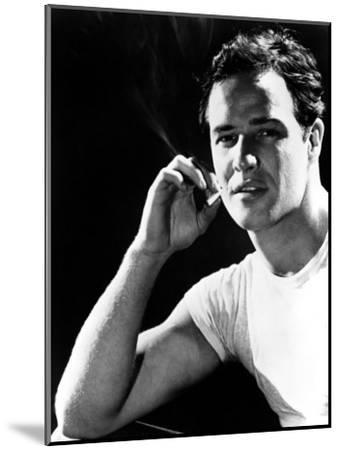 A Streetcar Named Desire, Marlon Brando, 1951--Mounted Photo