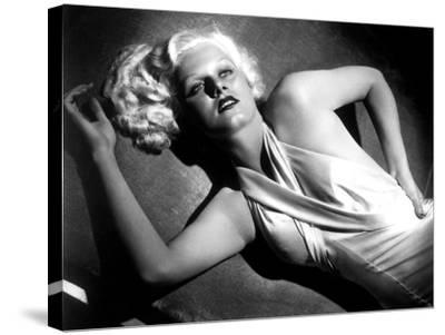 Jean Harlow--Stretched Canvas Print