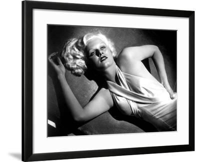 Jean Harlow--Framed Photo