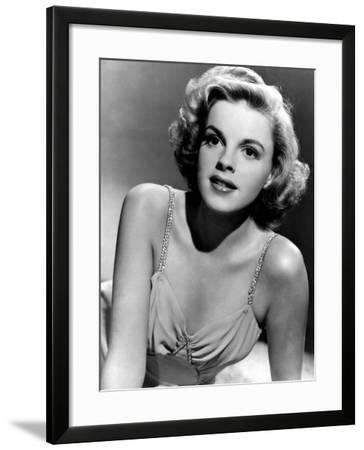 Judy Garland in the Early 1940s--Framed Photo
