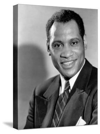 Paul Robeson, c.1930s--Stretched Canvas Print
