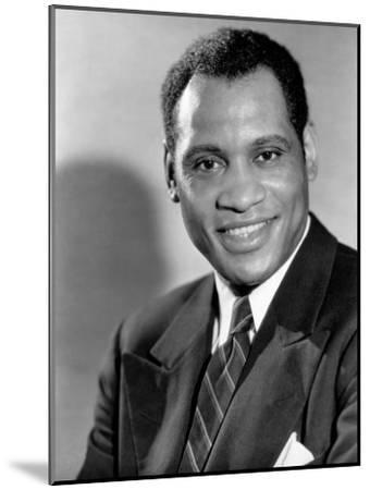 Paul Robeson, c.1930s--Mounted Photo