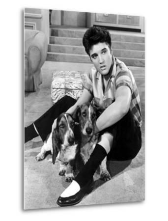 Jailhouse Rock, Elvis Presley, 1957--Metal Print
