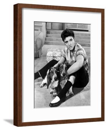 Jailhouse Rock, Elvis Presley, 1957--Framed Photo