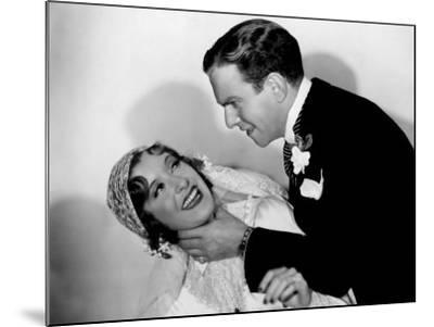 Many Happy Returns, Gracie Allen, George Burns, 1934--Mounted Photo