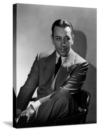 They Drive by Night, George Raft, 1940--Stretched Canvas Print