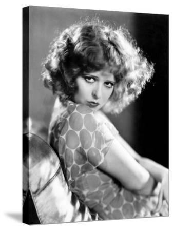 Clara Bow, 1932--Stretched Canvas Print