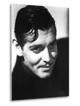 Clark Gable, Mid-1930s--Metal Print