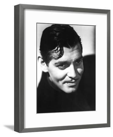 Clark Gable, Mid-1930s--Framed Photo