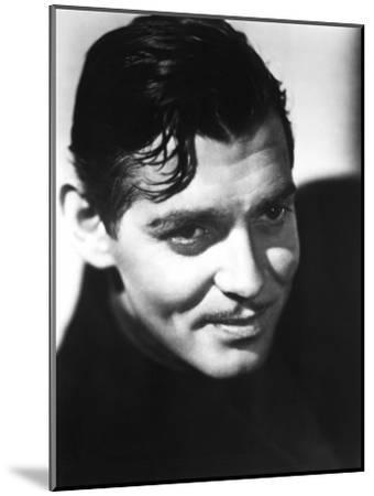 Clark Gable, Mid-1930s--Mounted Photo