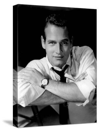 Paul Newman--Stretched Canvas Print