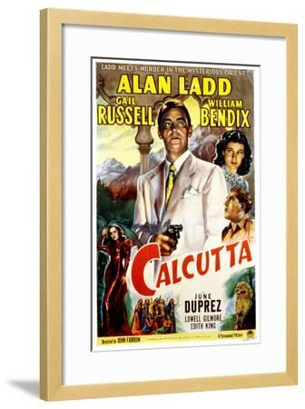 Calcutta, Alan Ladd, Gail Russell, William Bendix, June Duprez, 1947--Framed Photo