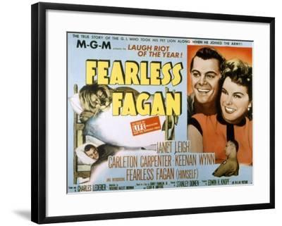 Fearless Fagan Carleton Carpenter Janet Leigh Keenan Wynn 1952 Photo By Artcom