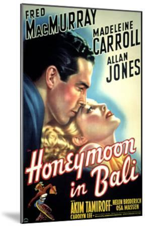 Honeymoon in Bali, Fred MacMurray, Madeleine Carroll, 1939--Mounted Photo